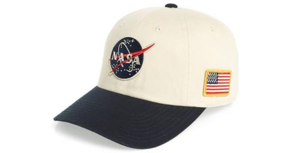 402bc669af94b6 American Needle United Slouch Nasa Ball Cap in Blue for Men - Lyst