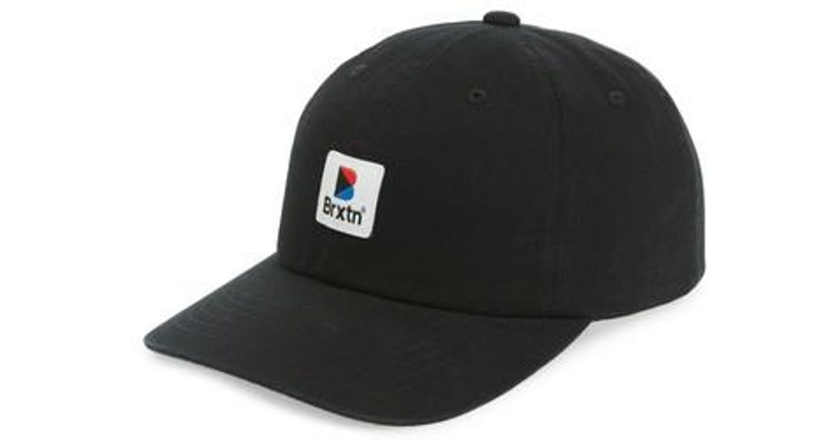 b870c70493bab ... germany lyst brixton stowell baseball cap in black for men save 40.625  da8d1 25847