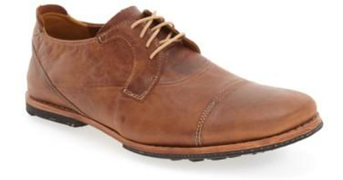 Lyst - Timberland Wodehouse Lost History Cap Toe Oxford in Brown for Men d75ff4cd948