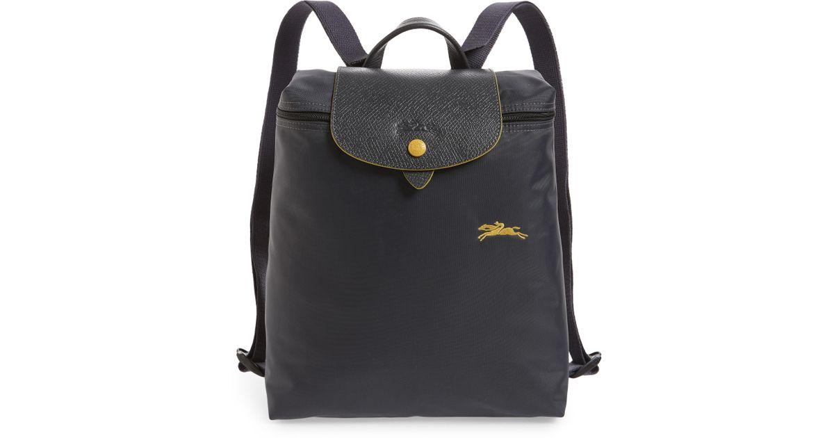 04cf02d96f Longchamp Le Pliage Club Backpack - Purple in Purple - Lyst