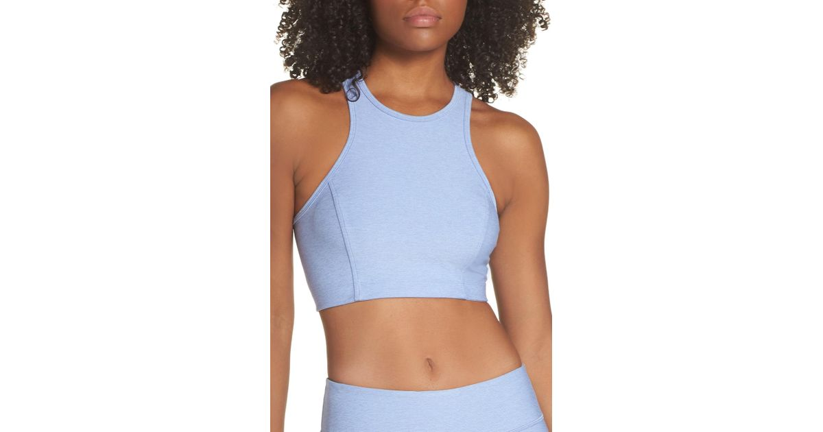 0ab848c0297a5e Lyst - Outdoor Voices Athena Crop Top in Blue