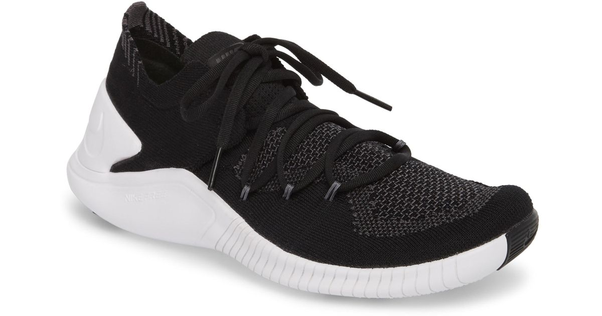the latest 0d1fb 97883 Lyst - Nike Free Tr Flyknit 3 Training Shoe in Gray