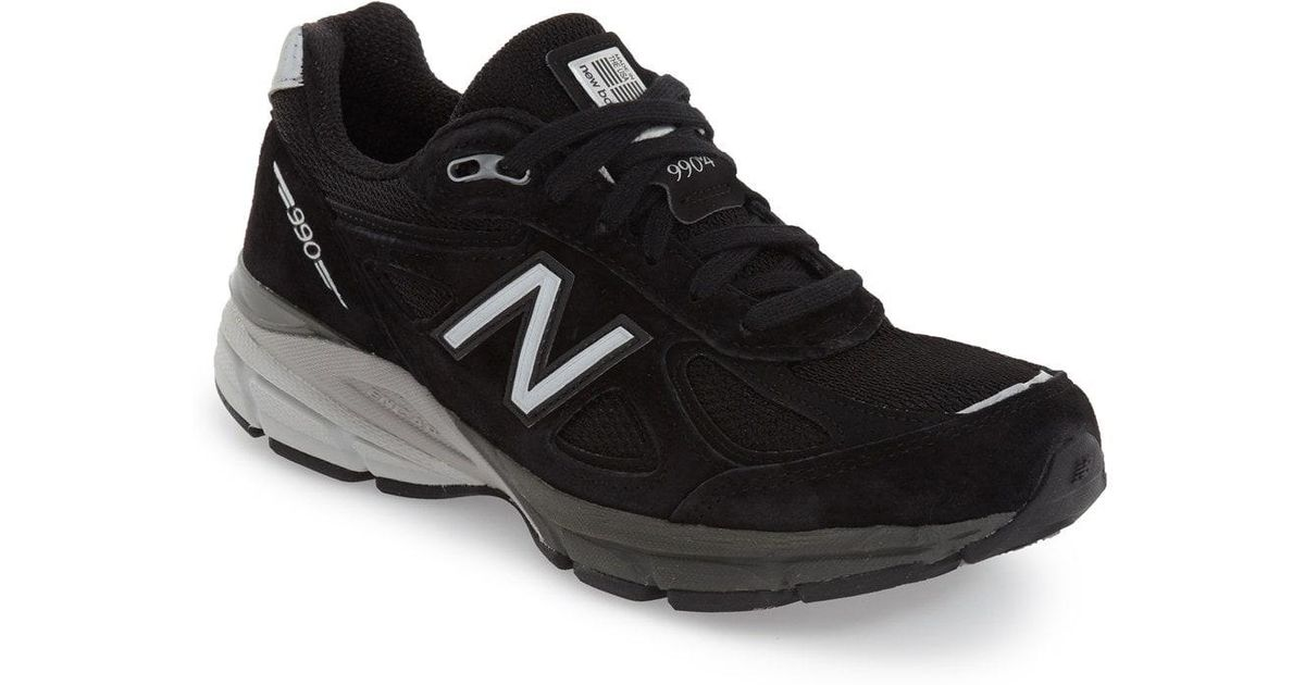 90786f147cc Lyst - New Balance  990 Premium  Running Shoe in Black
