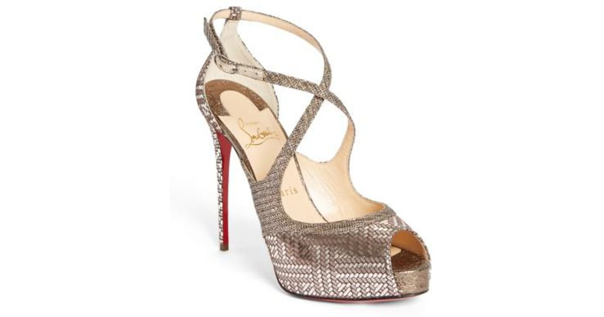 Mira Bella 120 metallic sandal Christian Louboutin b7W27n