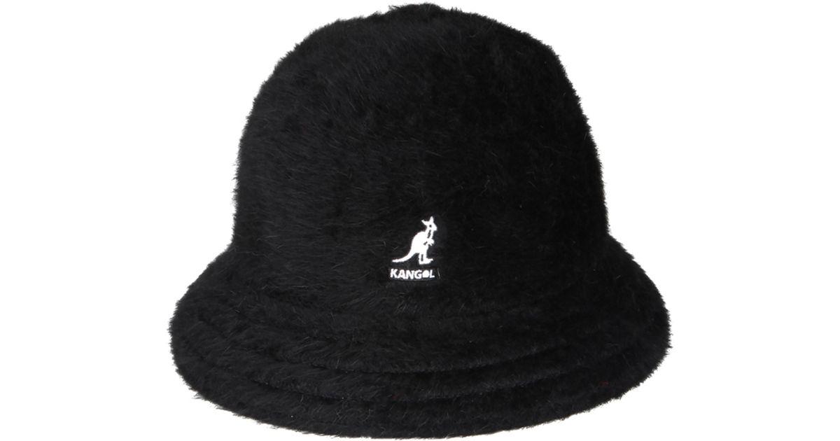 Lyst - Kangol Furgora Casual Bucket Hat - in Black e030b66315c