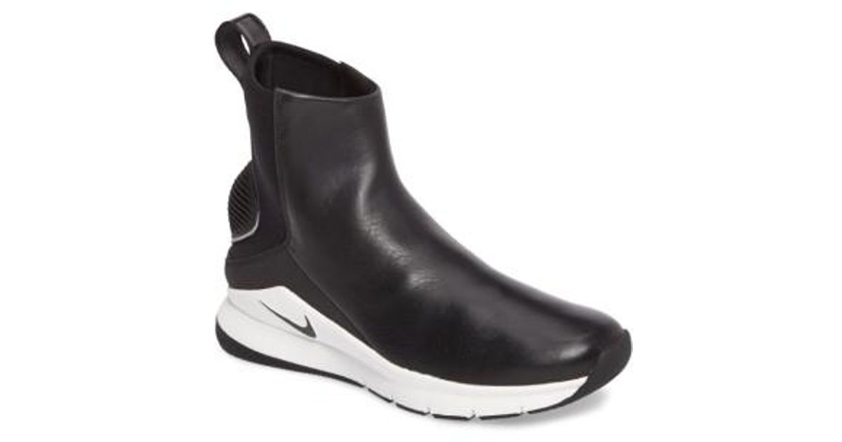 Rivah Lyst Nike Bota Impermeable De Alta Deporte Premium La Zapatilla De Deporte Alta Negro f0ad1c