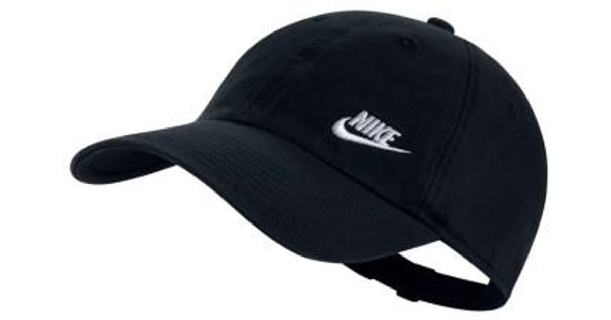db0d6a1d6ee76 Nike Women's H86 Swoosh Hat in Black - Lyst