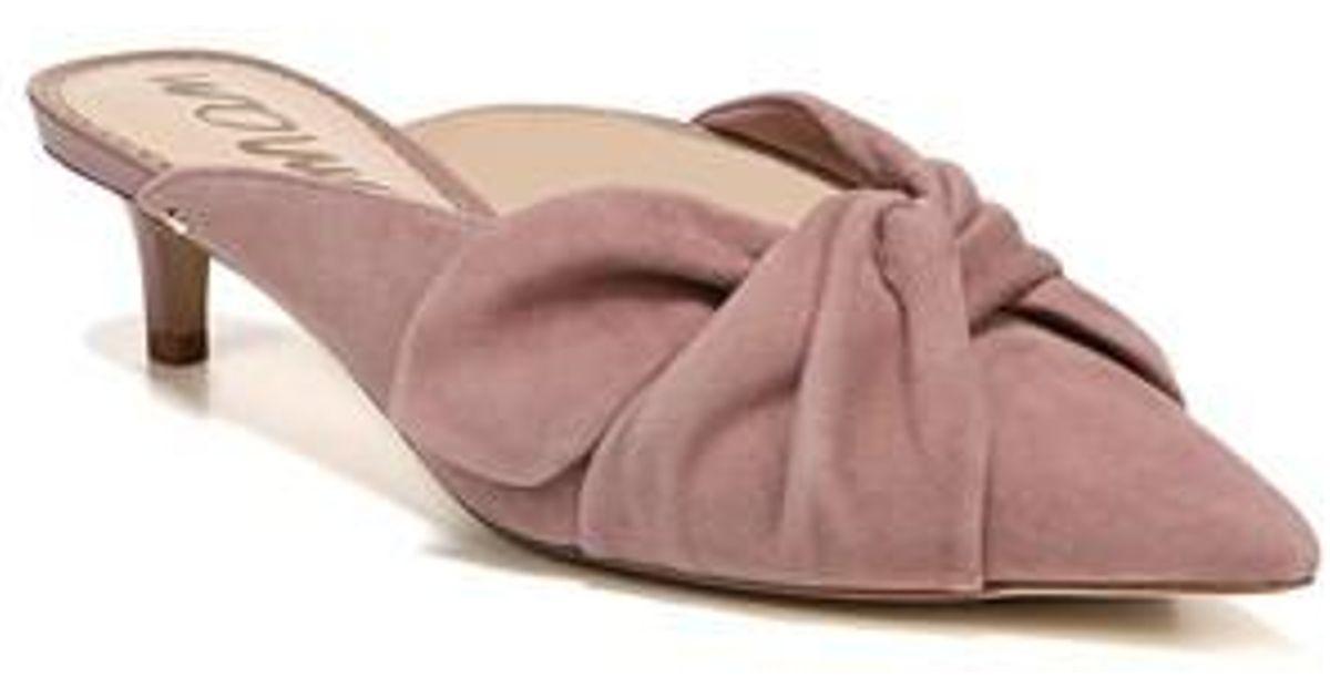 862c8f5ab63 Lyst - Sam Edelman Laney Pointy Toe Mule in Pink