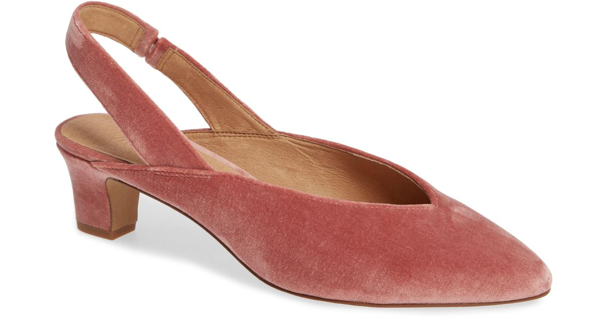 7fdd8053d8e Lyst - Madewell The Etta Slingback Pumps - Save 30%