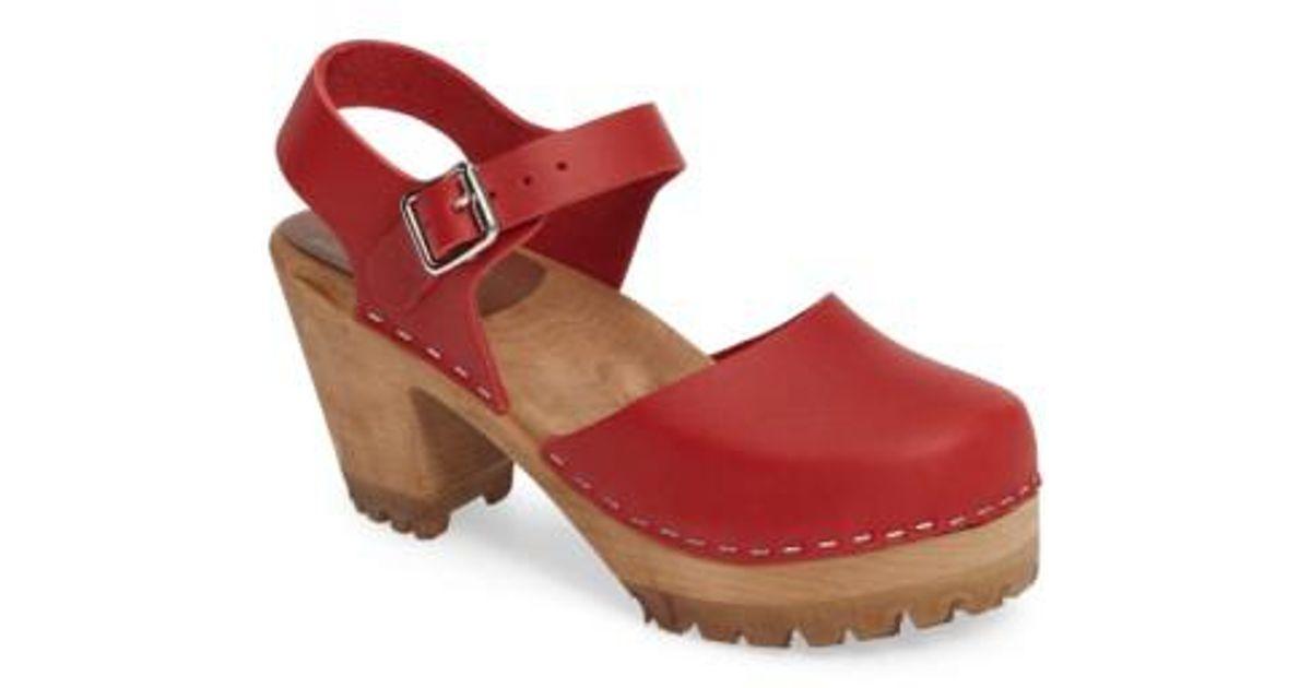 5aa80479836 Lyst - MIA Abba Sandal in Red