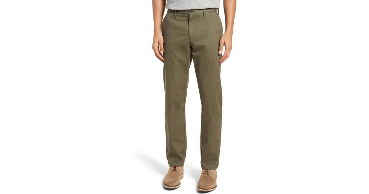 880a8610 1901 Ballard Slim Fit Stretch Chino Pants in Green for Men - Save 51% - Lyst
