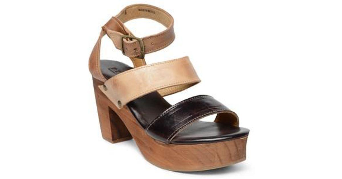 Bed Stu Crystal Banded Woven Block Heel Sandals tO42xAuw