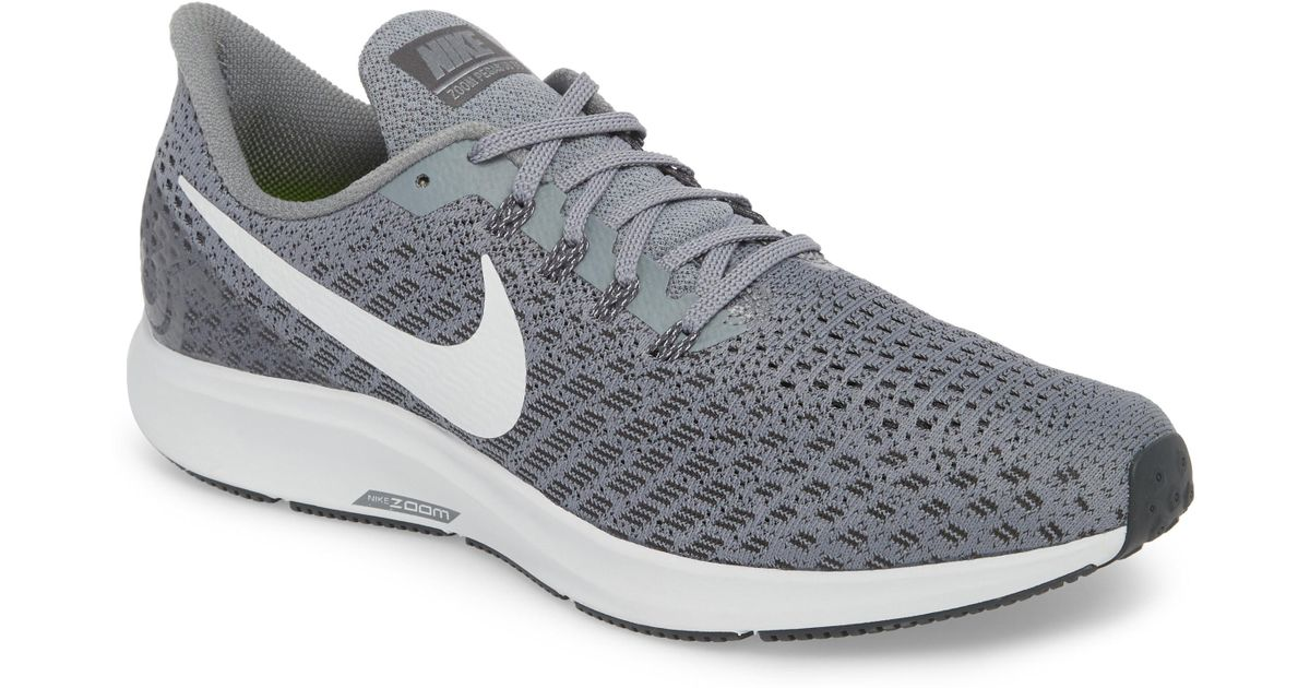 1c4025a0e08 Lyst - Nike Air Zoom Pegasus 35 Running Shoe in Gray for Men