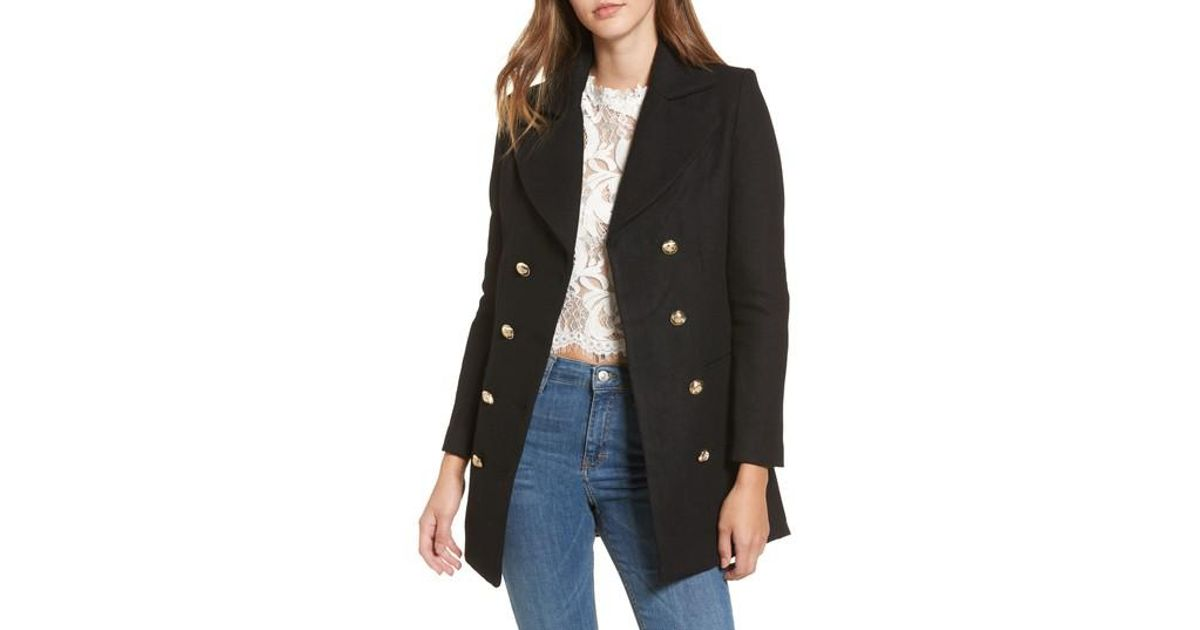 c9b15bb9c73 Lyst - Lioness Bad Romance Blazer Jacket in Black