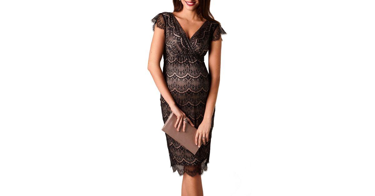 314cc3352f35a Lyst - TIFFANY ROSE Imogen Maternity Dress