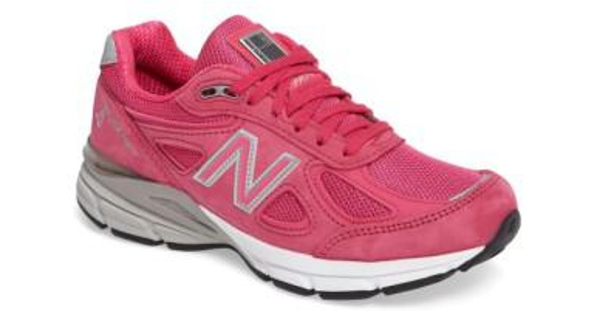 ae8105bf1d9 Lyst - New Balance  990 Premium  Running Shoe in Pink