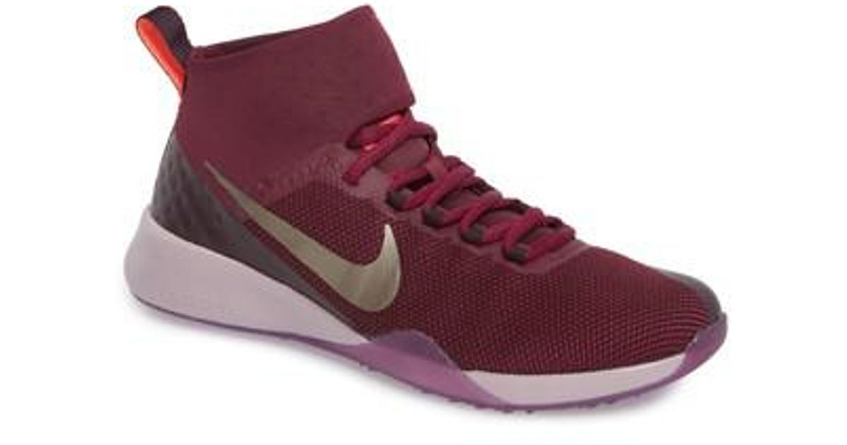b7d9d3354662a Lyst - Nike Air Zoom Strong 2 Gem Training Shoe in Purple