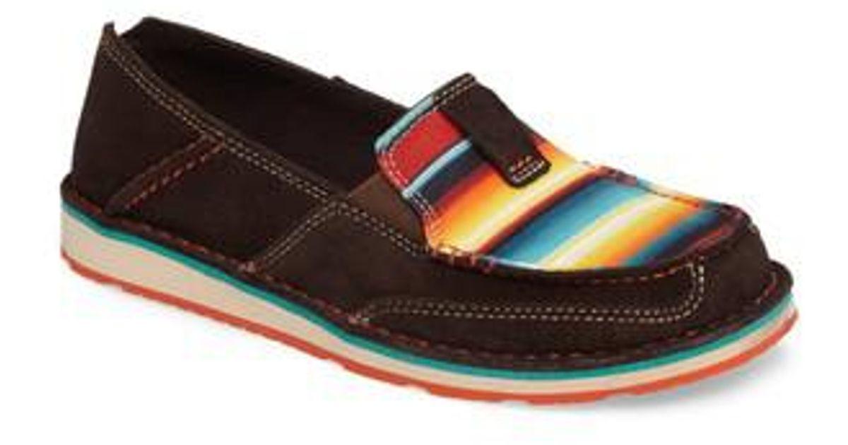 Serape Slip On Shoes
