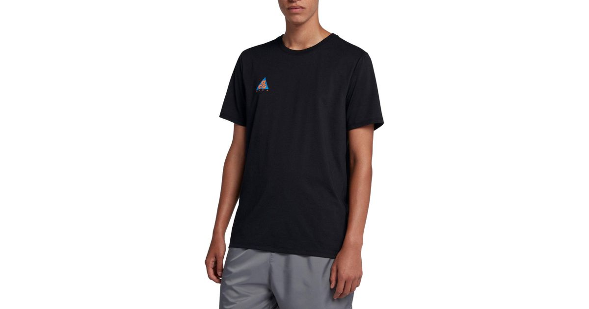 bd84be3f5b30f4 Lyst - Nike Sportswear Acg Graphic Tee in Black for Men
