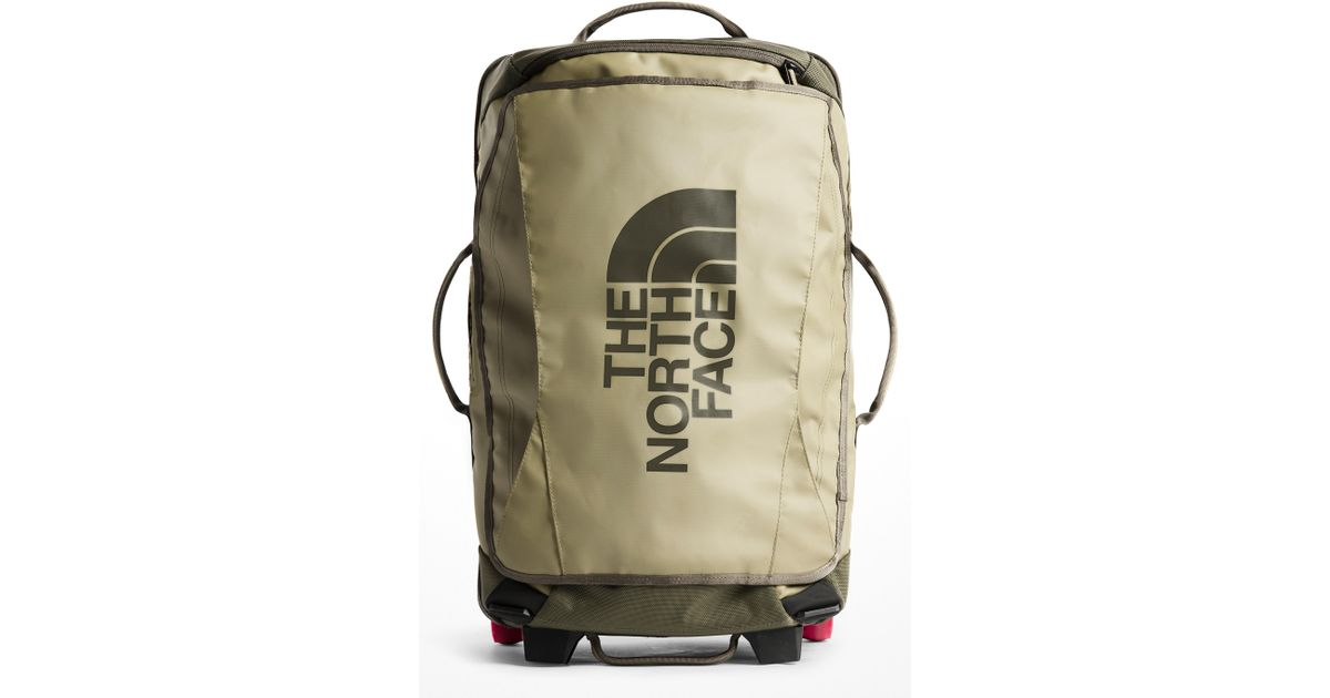 The North Face Rolling Thunder 21-inch Wheeled Carry-on in Green for Men -  Lyst e208880fd5512