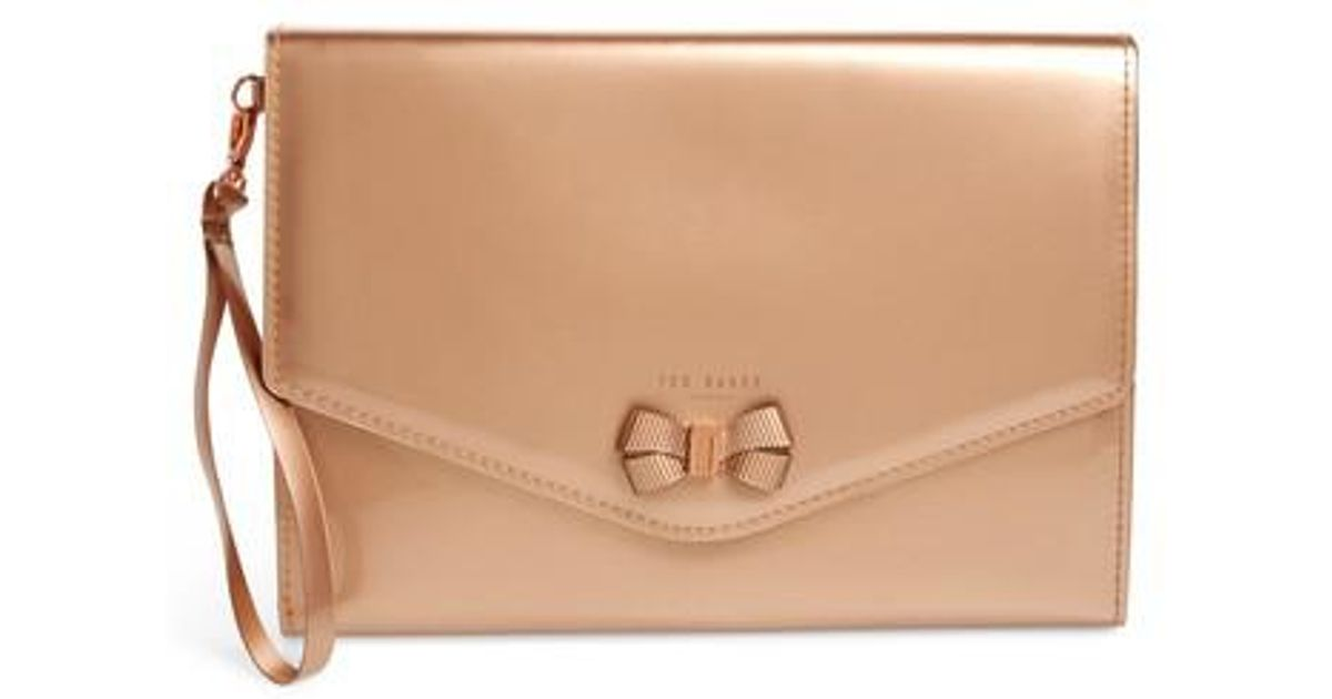 87f872af7fd Lyst - Ted Baker Luanne Ipad Mini 4 Envelope Clutch