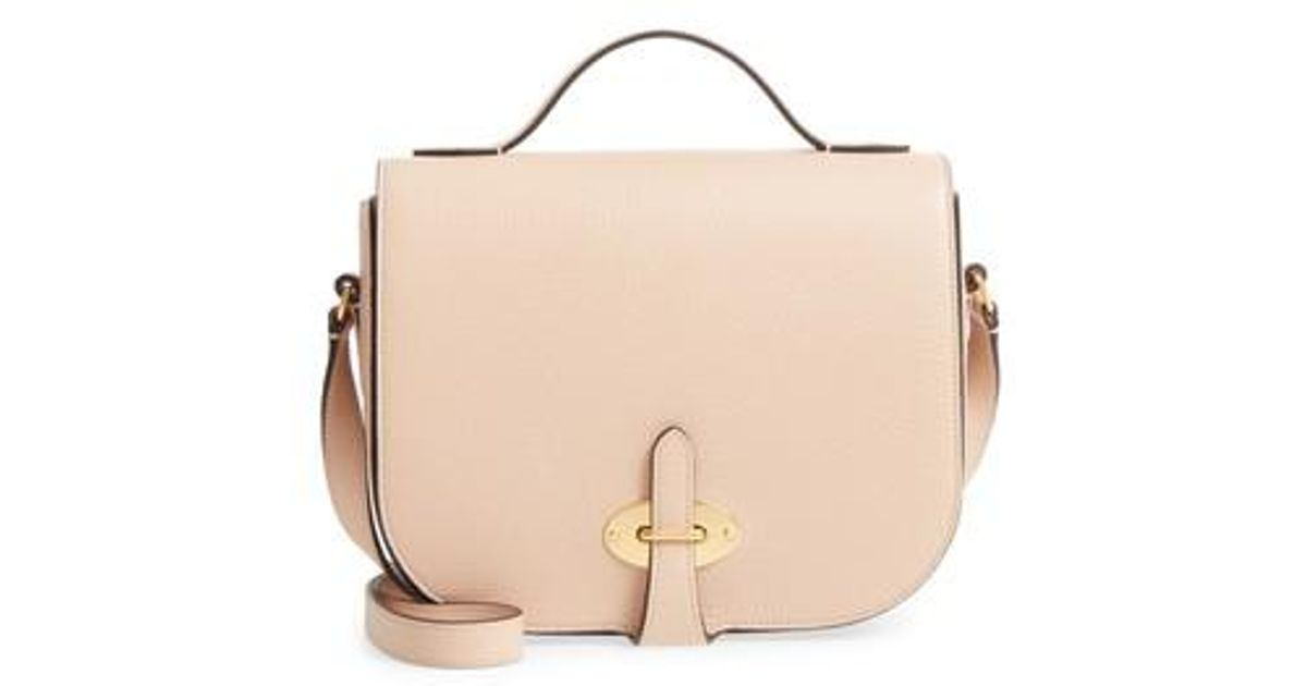 e29b850a17 Lyst - Mulberry Tenby Calfskin Leather Crossbody Bag in Natural