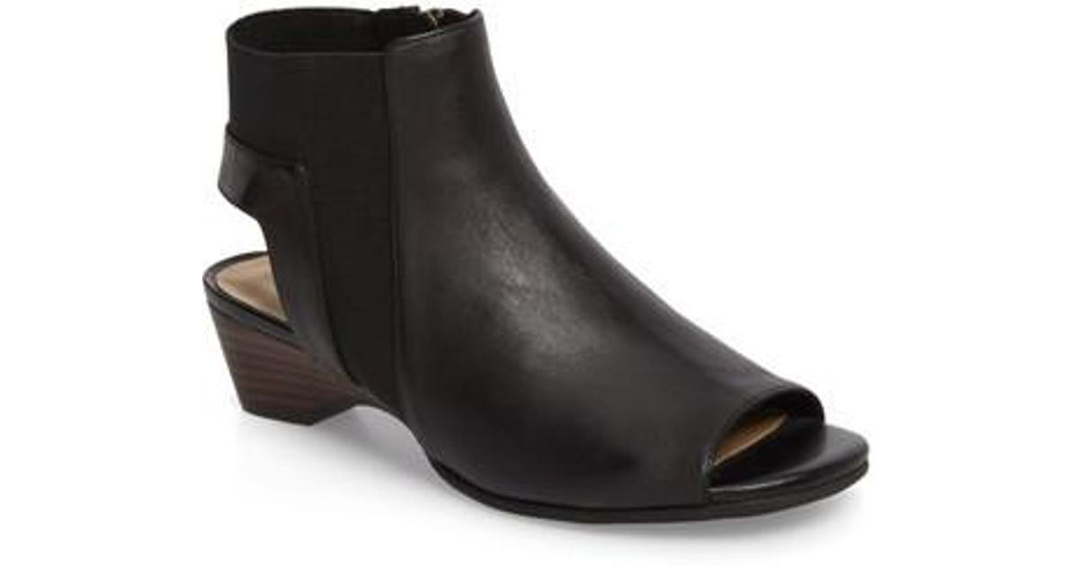Bella-Vita Parson Open Toe Booties HKsrNvems