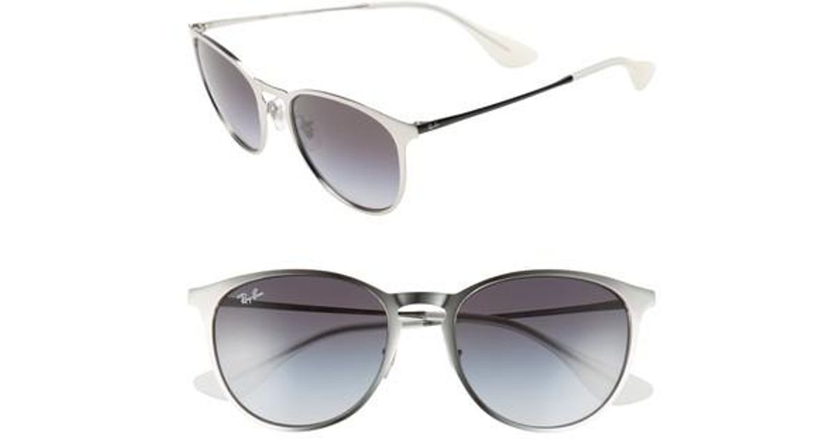 d719e09a84 Lyst - Ray-Ban  youngster  54mm Sunglasses - Lite Silver in Metallic