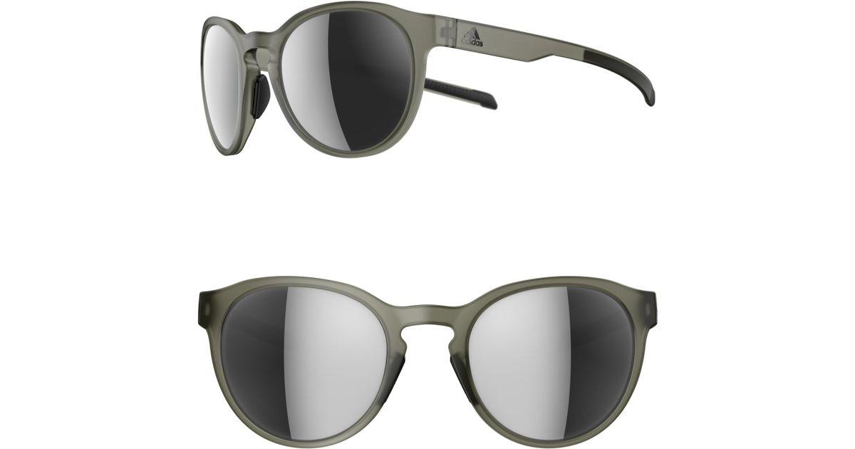 58935ba9fdfc Lyst - adidas Proshift 52mm Mirrored Sport Sunglasses
