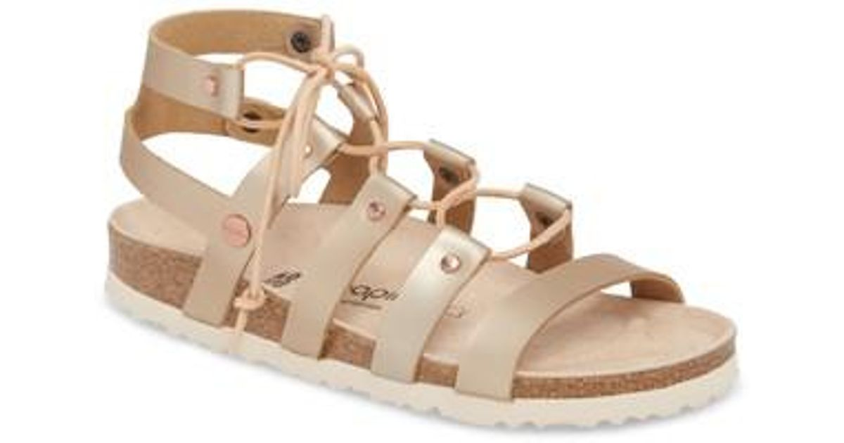 073fd5a78e5e Lyst - Birkenstock Papillio By Cleo Gladiator Sandal in Pink