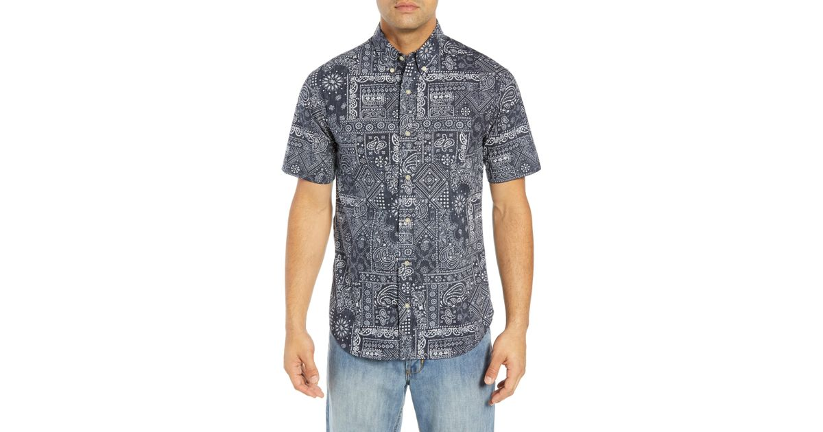 c812bc887a07 Lyst - Reyn Spooner Aloha Bandana Regular Fit Sport Shirt for Men