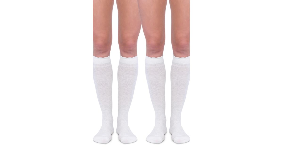3babc2fb05b Lyst - Belly Bandit Belly Bandit 2-pack Compression Socks