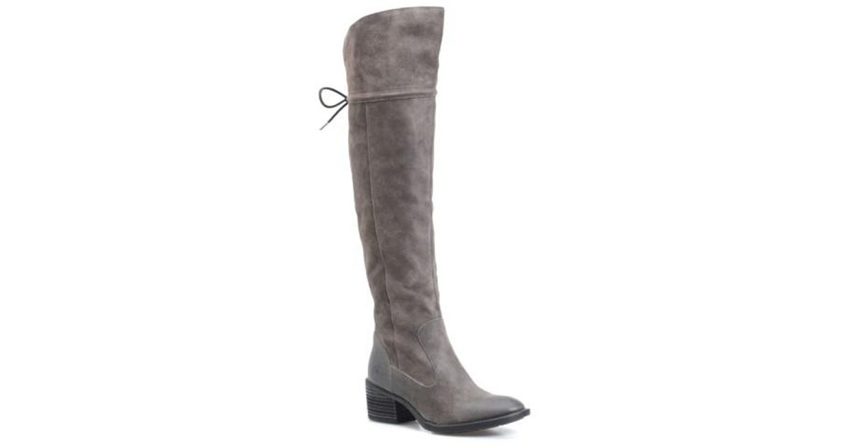 1a8c2c4ba5a Lyst - Børn B rn  gallinara  Over The Knee Boot in Gray