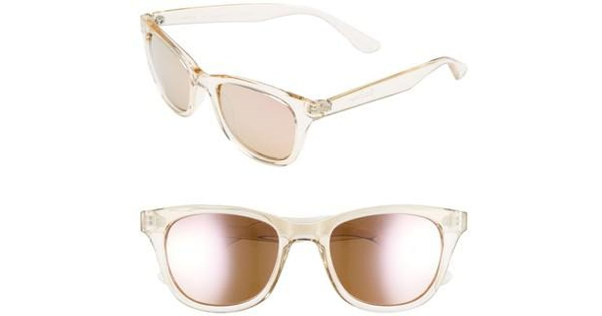 7a1e53e9e7 Lyst - Lilly Pulitzer Lilly Pulitzer Maddie 52mm Polarized Mirrored  Sunglasses - Catch The Wave  Green