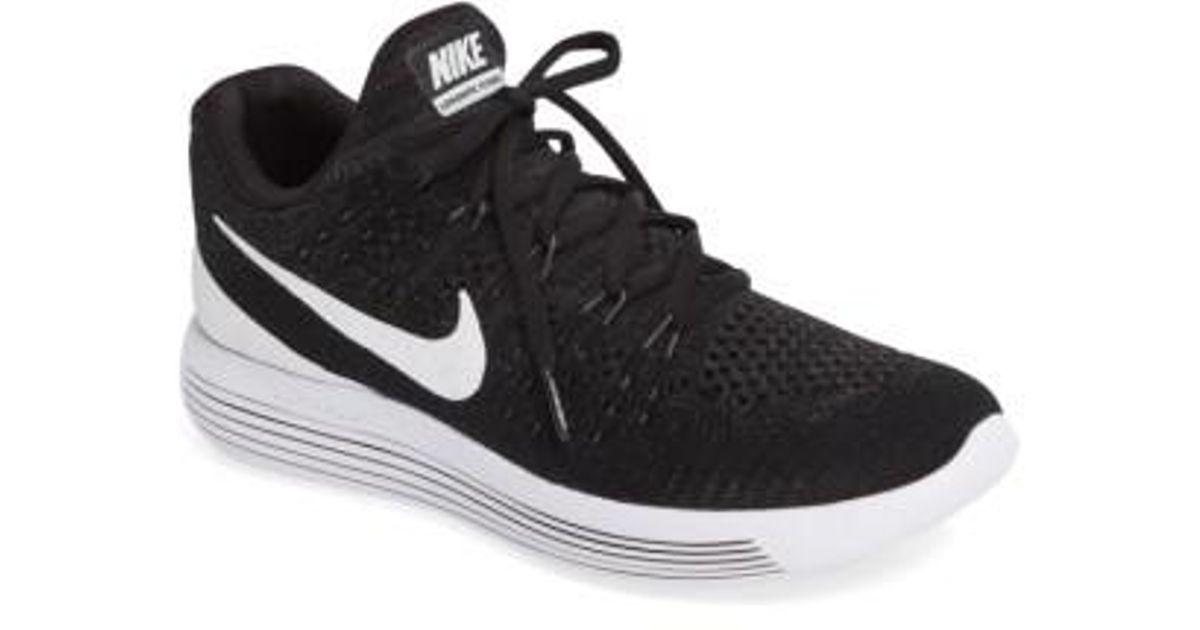 huge discount 1b090 eec47 Lyst - Nike Lunarepic Low Flyknit 2 Running Shoe in White