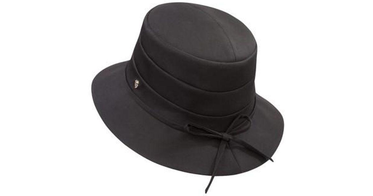 7635b0fc6b320 Lyst - Helen Kaminski Medium Brim Water-resistant Hat in Black