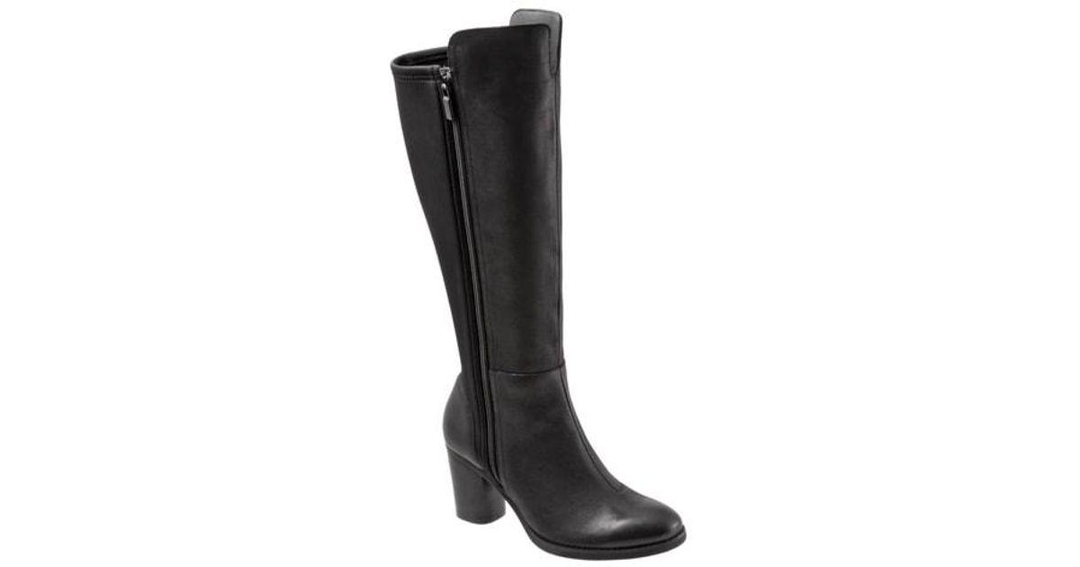 3cabe7ab244 Lyst - Softwalk® Softwalk Katia Knee High Boot in Black