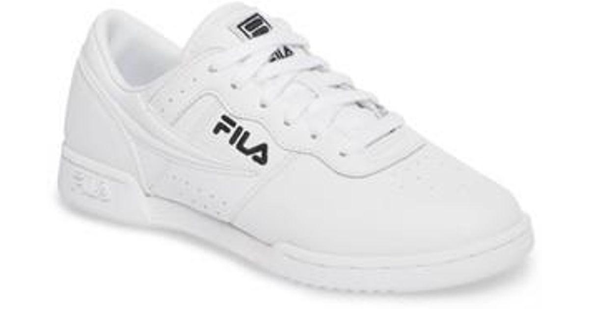 Fila Original Fitness Sneaker in White for Men - Lyst 51519a16e