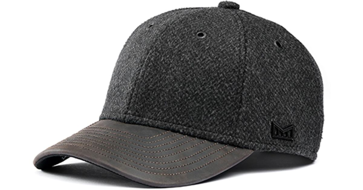 buy online f3990 6c6d1 Melin The Diplomat Baseball Cap in Black for Men - Lyst