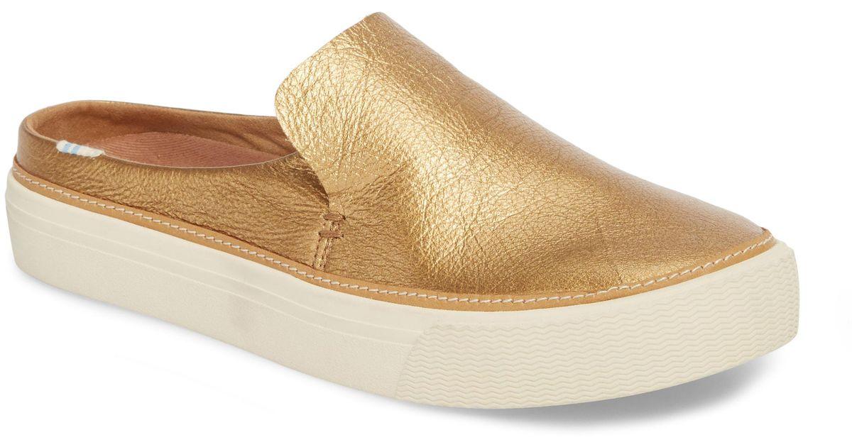 d70bc76ef5 TOMS Sunrise Slip-on Sneaker in Metallic - Save 61% - Lyst