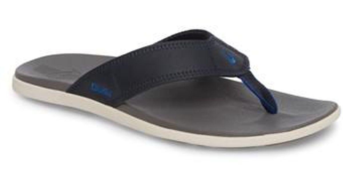 b41afd68151 Lyst - Olukai Kinona Flip Flop for Men