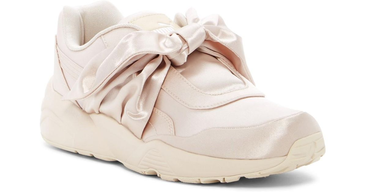 cheap for discount c724e 1f782 PUMA - Pink Fenty By Rihanna Bow Sneaker - Lyst