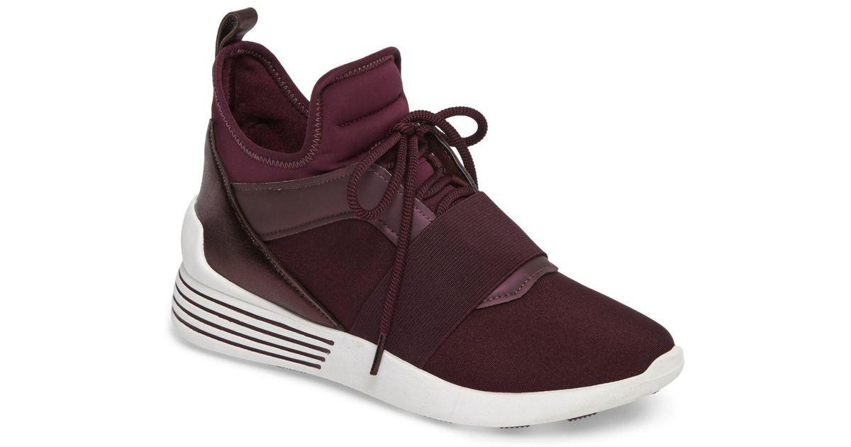 dc7de5beaa1 Lyst - Kendall + Kylie Braydin High Top Sneaker