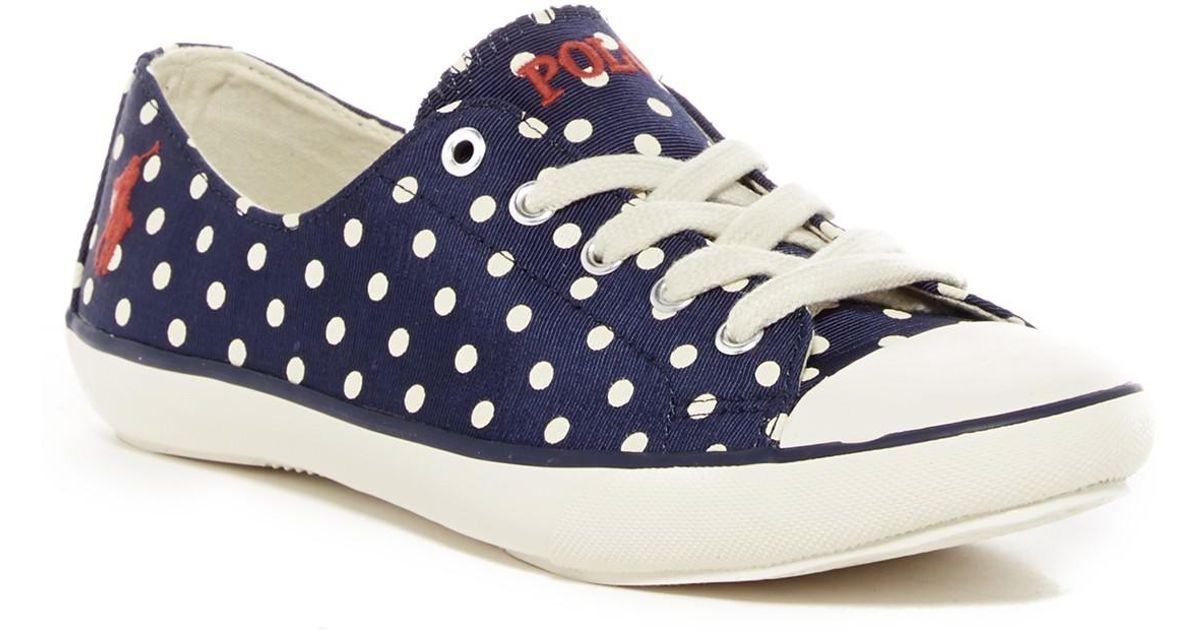 700e27102679 Lyst - Lauren By Ralph Lauren Parnell Sneaker in Blue