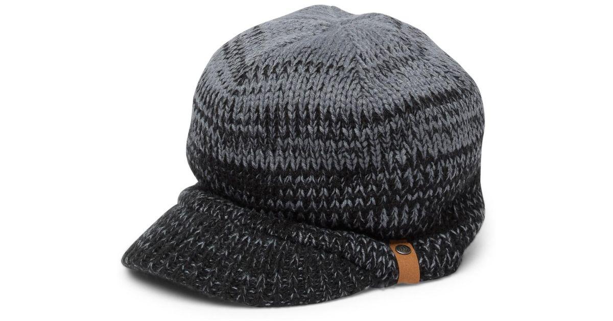 Lyst - Adidas Lena Ii Brimmed Knitted Beanie in Black e4241b18336