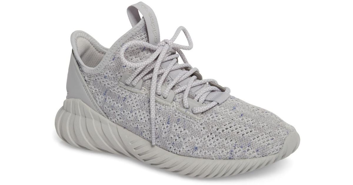 buy popular 907c8 e3a9f Lyst - adidas Tubular Doom Sock Primeknit Sneaker (women)