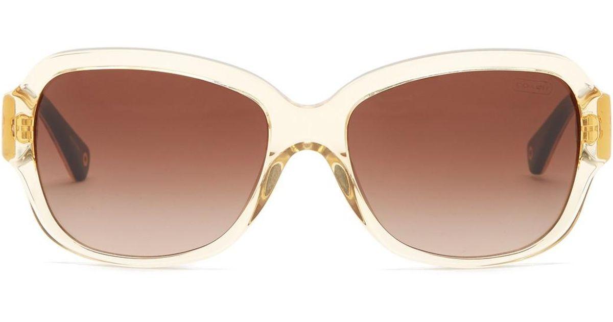 14d6f4dd95c ... ireland lyst coach womens pamela fashion sunglasses 56bd1 d8090 ...