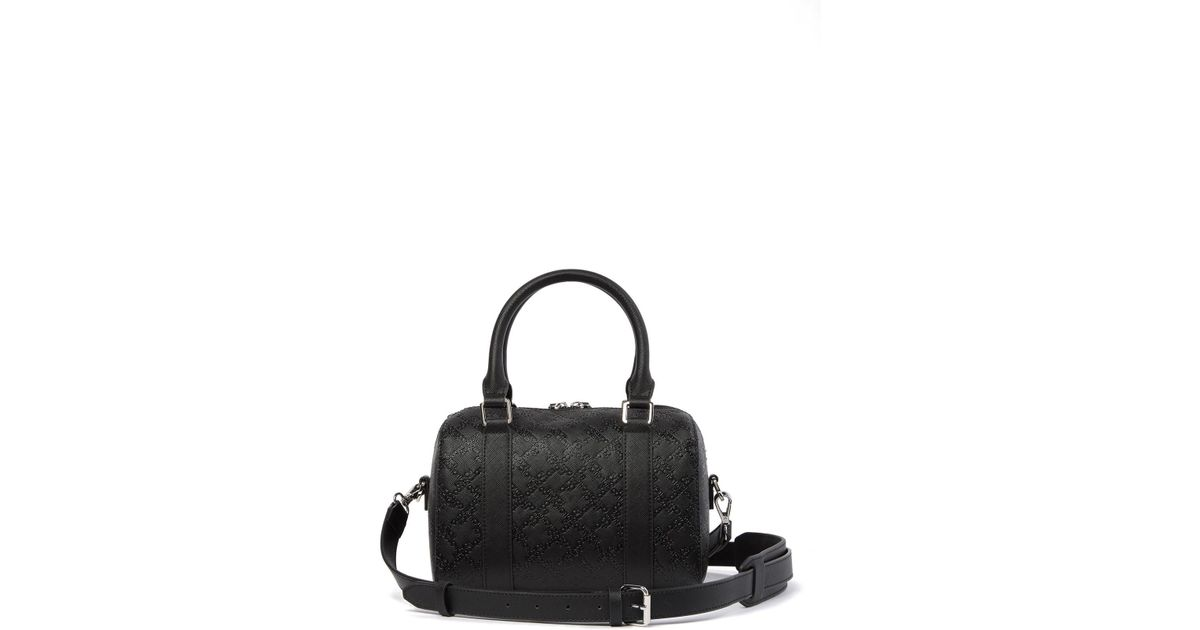 f7567ea67e1a Lyst - French Connection Marin Mini Speedy Satchel in Black - Save 25%