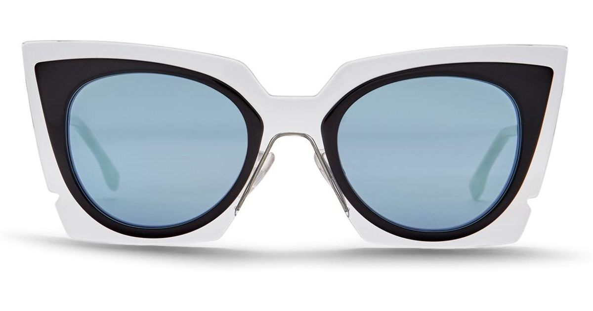 b065818daf0 Fendi 49mm Modified Butterfly Sunglasses - Lyst