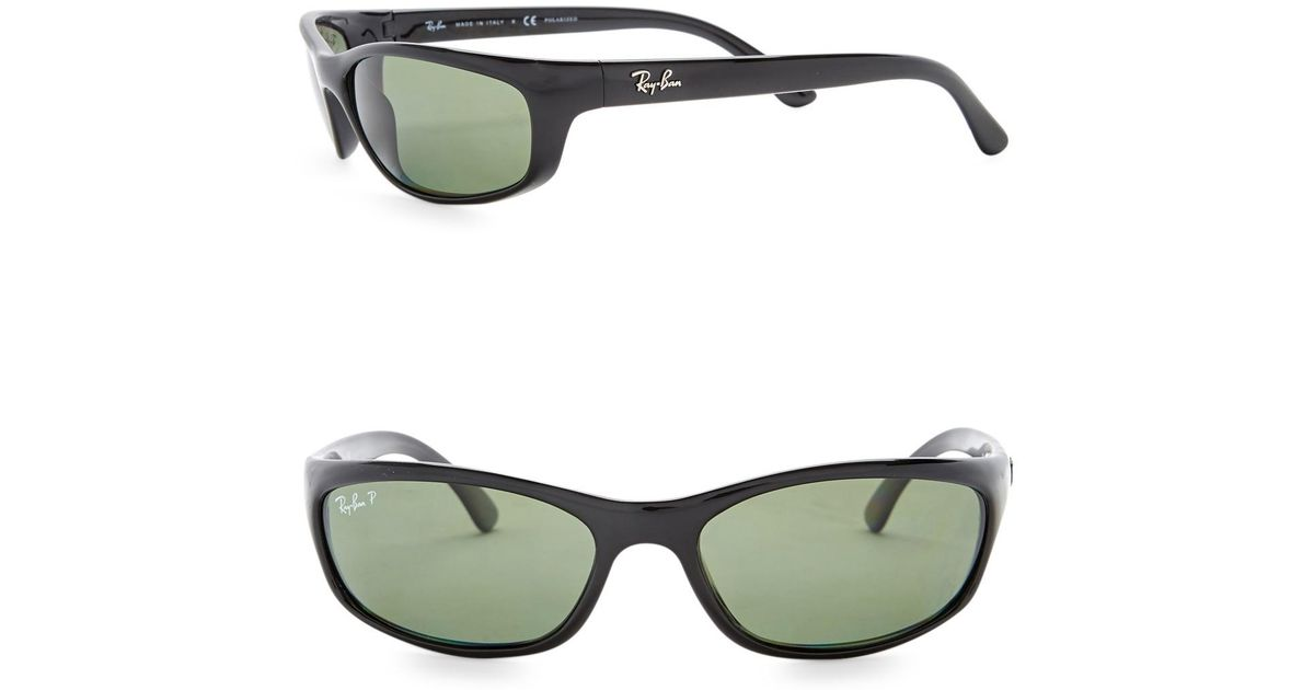 Lyst Ray Ban 62mm Sports Sunglasses In Black For Men 850c27a2339a